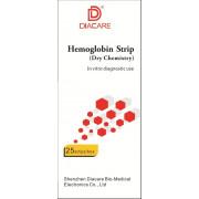 Тест - полоски на гемоглобин (Diacare)